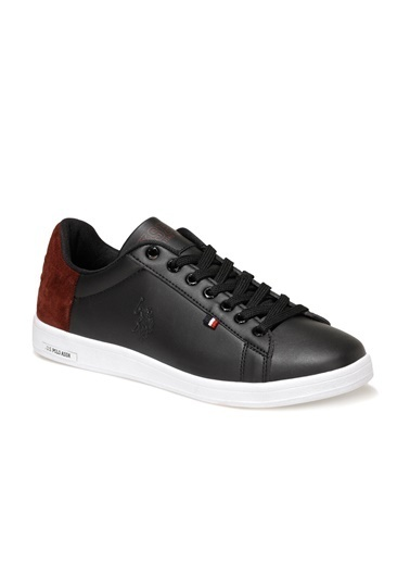 U.S. Polo Assn. Pedro 1Fx Erkek Sneaker Ayakkabı Siyah